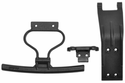 ARRMA RPM73662 Front Bumper /& Skid Plate for Losi Rock Rey
