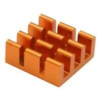 Raspberry Pi Heatsink - Orange (1pc) - Protect your Pi!