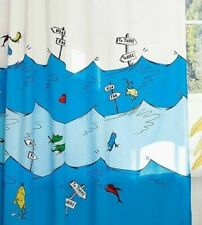 Dr Seuss Shower Curtain One Fish Two