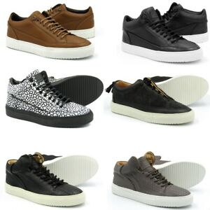 LEATHER SNEAKERS SHOES - MRP £150