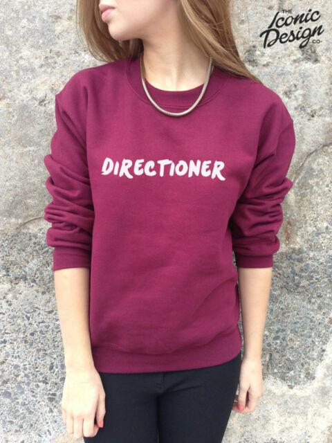 DIRECTIONER One Direction Jumper Harry Styles Zayn Malik Niall Horan 1D Sweater
