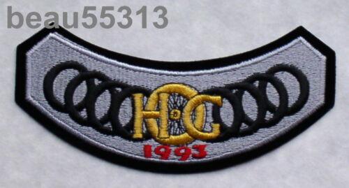 1993 VEST JACKET PATCH 93 HARLEY DAVIDSON OWNERS GROUP HOG H.O.G