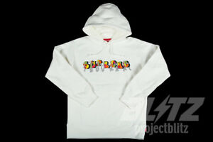 1f0f6d9ecfd9 Image is loading SUPREME-BLADE-WHOLE-CAR-HOODED-SWEATSHIRT-WHITE-S-M-L-