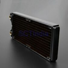 240mm slim Copper Radiator for CPU Water Cooling Heat Exchange PC Liquid cooling