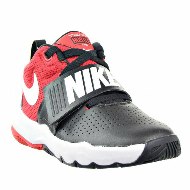 so cheap new lower prices cozy fresh Boys' Nike Big Kid Team Hustle D8 High Top Basketball Shoes Size ...