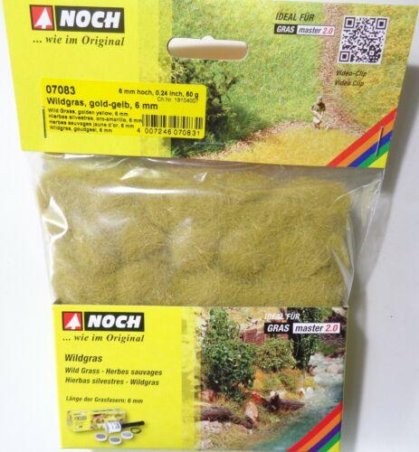 encore 07083 Wildgras Gold-Jaune 13,98 €//100 g hauteur 6 mm 50 g streugras Static Herbe