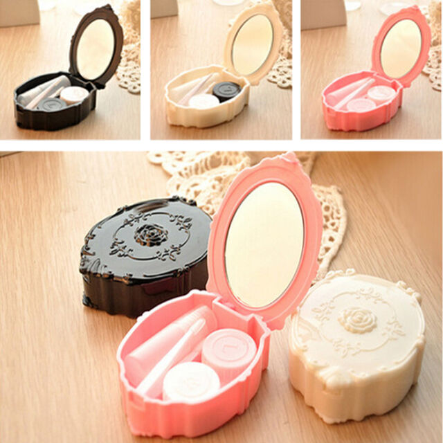 New Contact Lens Travel Kit Case Pocket Size Storage Holder Container 3Color