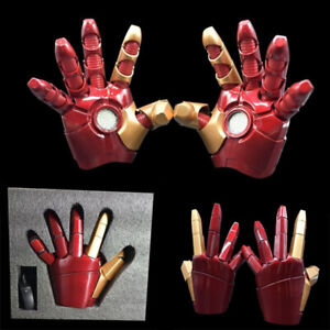 1-1-Iron-Man-LED-Light-Wearable-ABS-Gloves-MK43-Action-Figure-Toys-Cosplay-Props