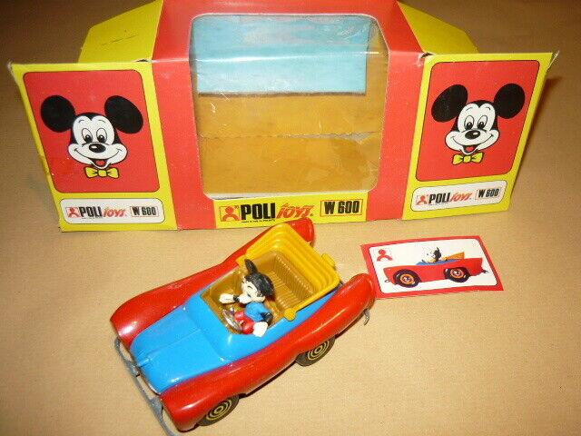 POLITOYS W600 AUTO DI TOPOLINO NO POLISTIL MINT BOX