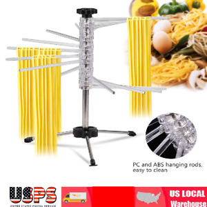 Folding-Pasta-Drying-Rack-Spaghetti-Dryer-Stand-Holder-Noodle-Hanging-Accessory