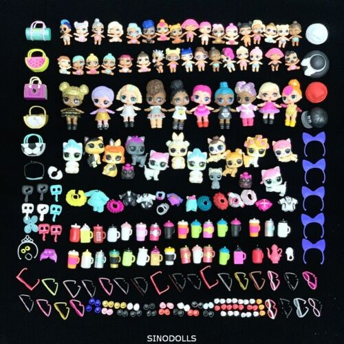 200Pcs//Set LOL Surprise Doll Queen Bee Kitty Queen Unicorn Lil Pet /& accessories