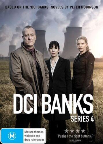 1 of 1 - DCI Banks Series Season 4 DVD Region 4 New & Sealed 2 Discs