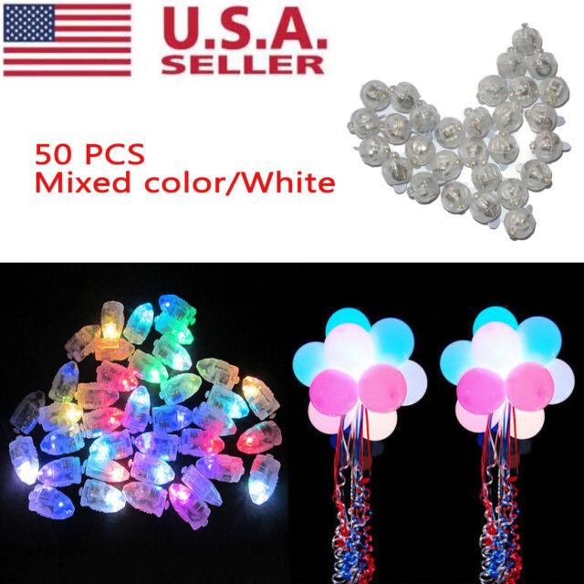 50-150 Led Ball Lamps Balloon Light for Paper Lantern Wedding Party Decor Lamp
