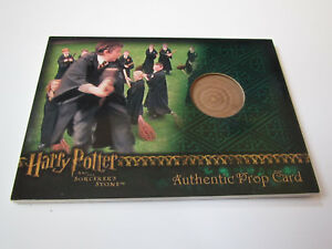 Harry-Potter-and-the-Sorcerer-039-s-Stone-Practice-Broom-Prop-Card-Wood-HP-SS-450