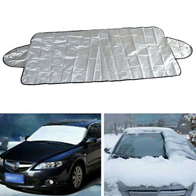 2PCs Car Windscreen Windshield Frost Cover Snow Shield Window Mirror Protector