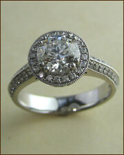 Hearts on Fire Platinum Significance 1.09 ct. Diamond Ring - NEW - $ 21,300
