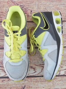 Details about Nike Turbulence 17 Men's Neon Yellow & Light Gray Athletic  Shoes-Size 8.5