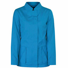 JIL SANDER $1,830 teal blue cotton Chrysler coat vented back jacket 36-F/4 NEW