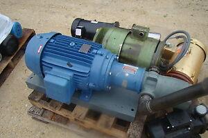 10 hp weg w21 severe duty c face motor w pump for Weg severe duty motor