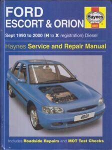 1990 Ford Tempo Escort Mercury Topaz Shop Manual 90