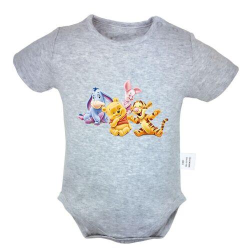 Winnie the Pooh Tigger Piglet Newborn Jumpsuit Baby Romper Bodysuit Clothes Sets