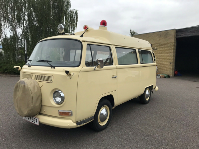 VW T2, 1,6 High Roof, Benzin, 1969, km 90000, beige,…