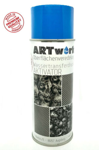 Aktivator Wassertransferdruck WTD Starterset 1m Meter Carbon Black Fine