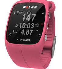 POLAR M400 PINK FITNESS HEART RATE MONITOR WATCH