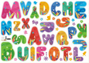 Cute-Alphabet-Letters-Home-Room-Wall-Mural-Window-Decor-Sticker-decals-removable