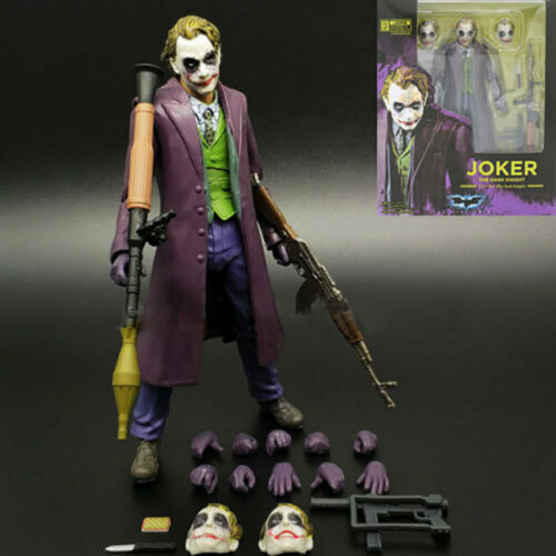 S.H.Figuarts SHF Joker Batman the Dark Night PVC Action Figure Statue KO Toys