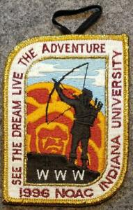 1996-NOAC-Delegate-Patch-See-The-Dream-Live-The-Adventure-BSA-OA