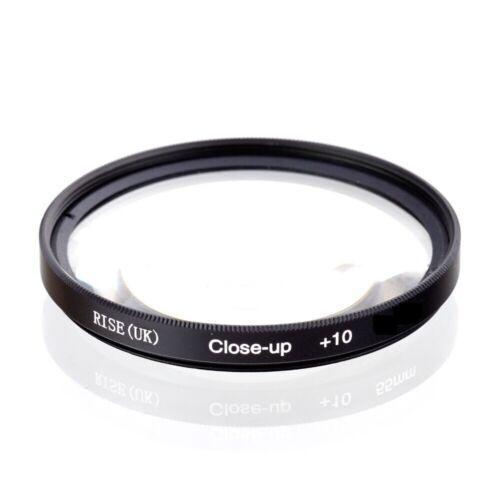 Aumento Reino Unido 55mm 10 Macro Lente Close-Up Filtro para Canon Nikon Sony Olympus
