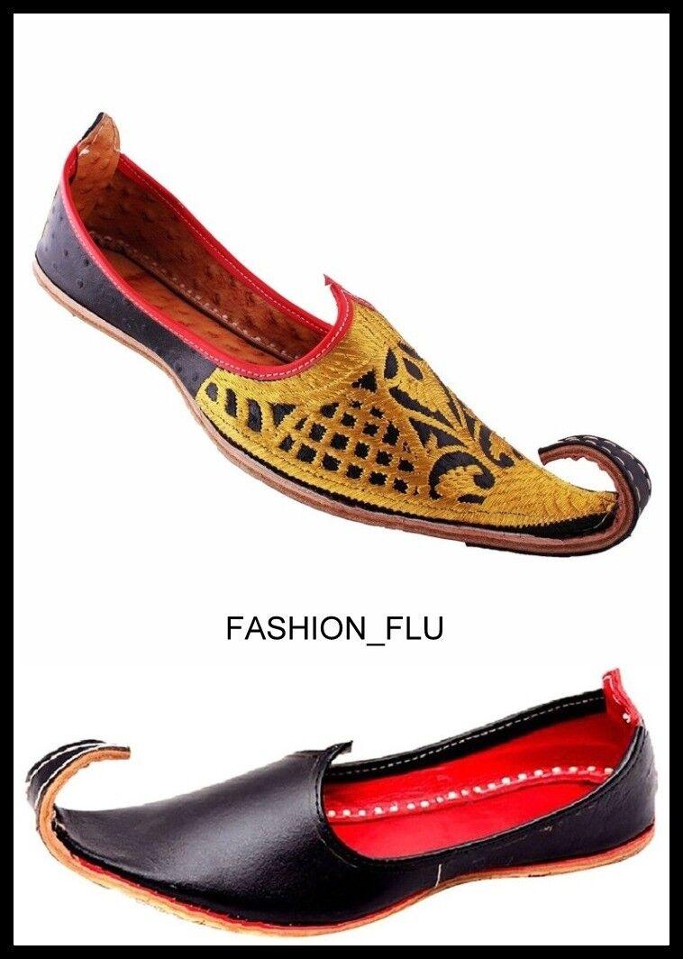 Gentlemen/Ladies Maharaja Royal Traditinol value Khussa Shoe/Juti/Mojari MENS Excellent value Traditinol Sufficient supply Current shape 6bbf60