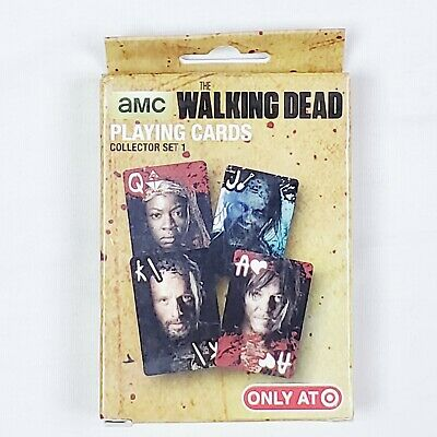Walking dead Playing Cards-collectors Item