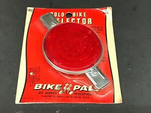 NEW BIKE PALS SOLO POLO BIKE REFLECTOR 4 SCHWINN STINGRAY BICYCLE BANANA SEAT