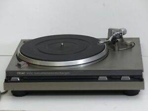 Vintage-TEAC-Direct-Drive-turntable-as-is-as-pictures-working-motor-Japan-made