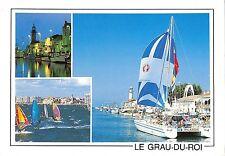 BT4133 Le canal a la tombee de la nuit Grau du Roi ship bateaux France