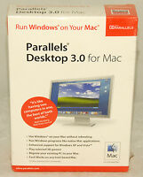 Parallels Desktop 3.0 For Mac - Run Windows On Mac Brand In Sealed Box