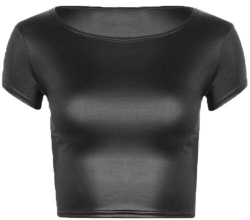 Ladies Army Leopard Aztec Printed Short Cap Sleeve Women Crop Top Stretchy Shirt