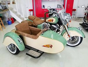 Details about Indian Motorcycle Harley Davidson Sidecar
