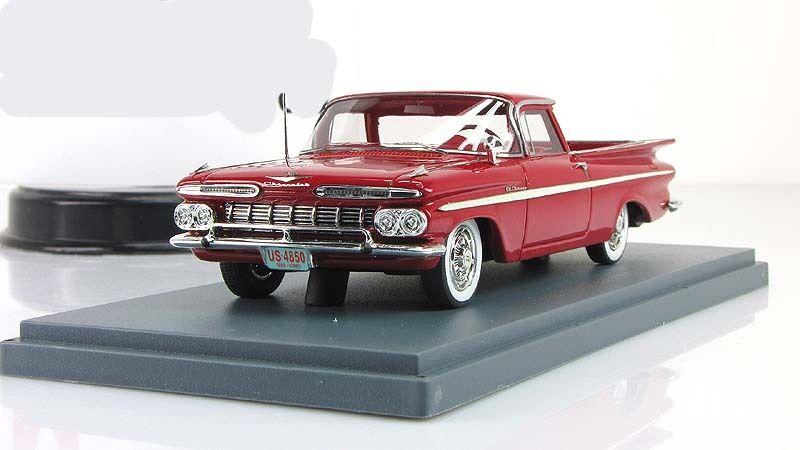 1 43 NEO Chevrolet El Camino Red 1959 NEO 44850