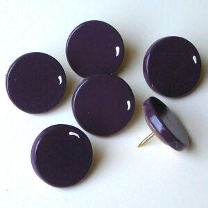 HAND-PAINTED-GRAPES-PURPLE-WINE-PUSH-PINS-TACKS-BULLETIN-MEMO-MEMORY-CORK-BOARD