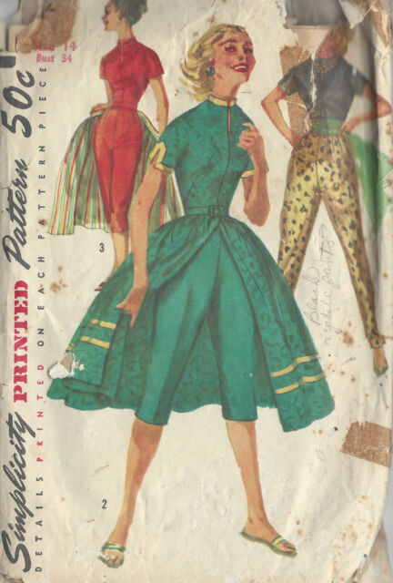 Simplicity 1812 Sewing Pattern Ladies Skirt and Knit Top - Inc Plus ...