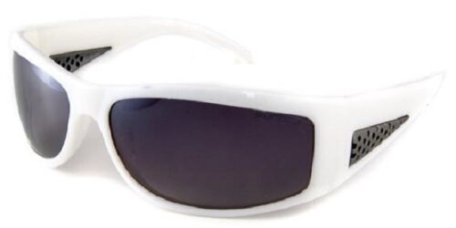 Sundog 37003 Duce Polarised Sunglasses White//Smoke Flash Mirror