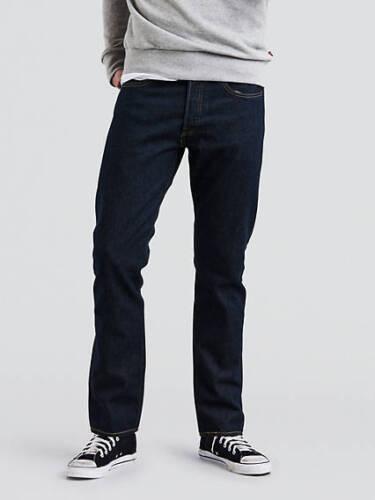 NEW Levi's 501 Taper Jeans Dark Wash Blue NWT