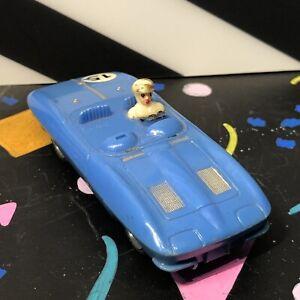 Rara-De-coleccion-Marx-Azul-Corvette-ranura-de-coche-7-speedmarx-Calzada-1022