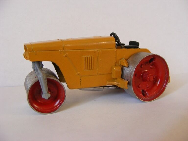 1 43 Russian Soviet USSR roller tractor DU-50 METAL HANDMADE