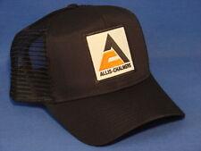 Allis Chalmers Hat - Black Mesh - High Crown - AC Tri Logo