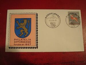 LUXEMBOURG-1966-WORKERS-UNION-FIRST-DAY-COVER-EX-CONDITION