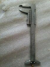 Vintage Zeus 6 Vernier Caliper 1128 11000 Machinist Lathe Starrett Germany